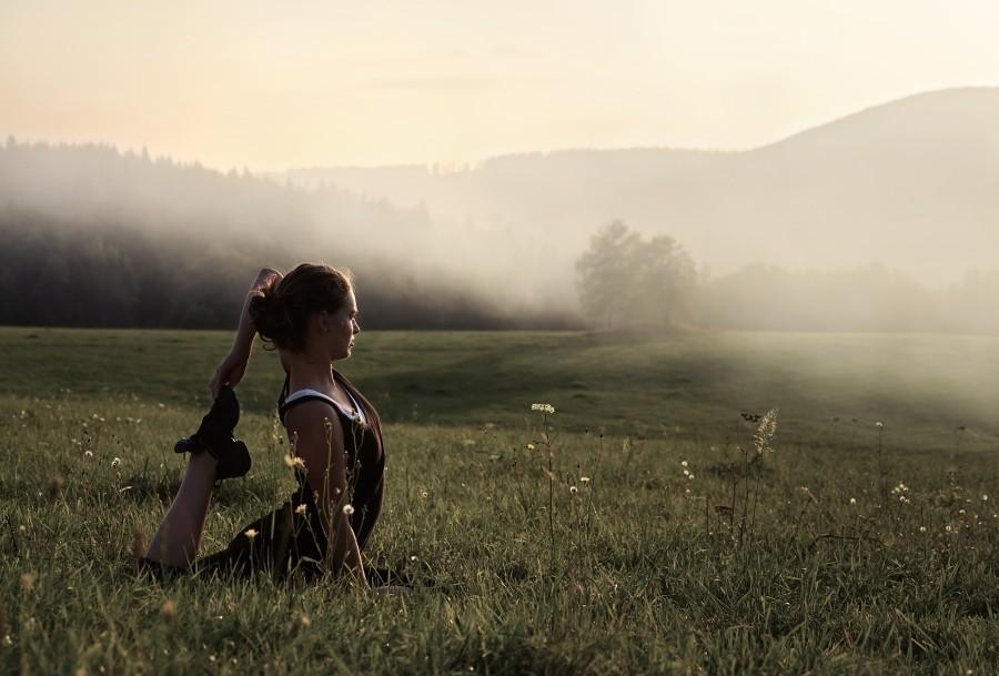 挥霍的青春 利用自然光拍摄人景合一人像