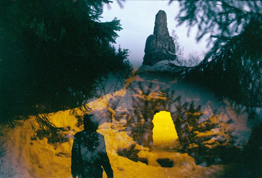 见证双重曝光的魅力 打造神奇的魔幻森林