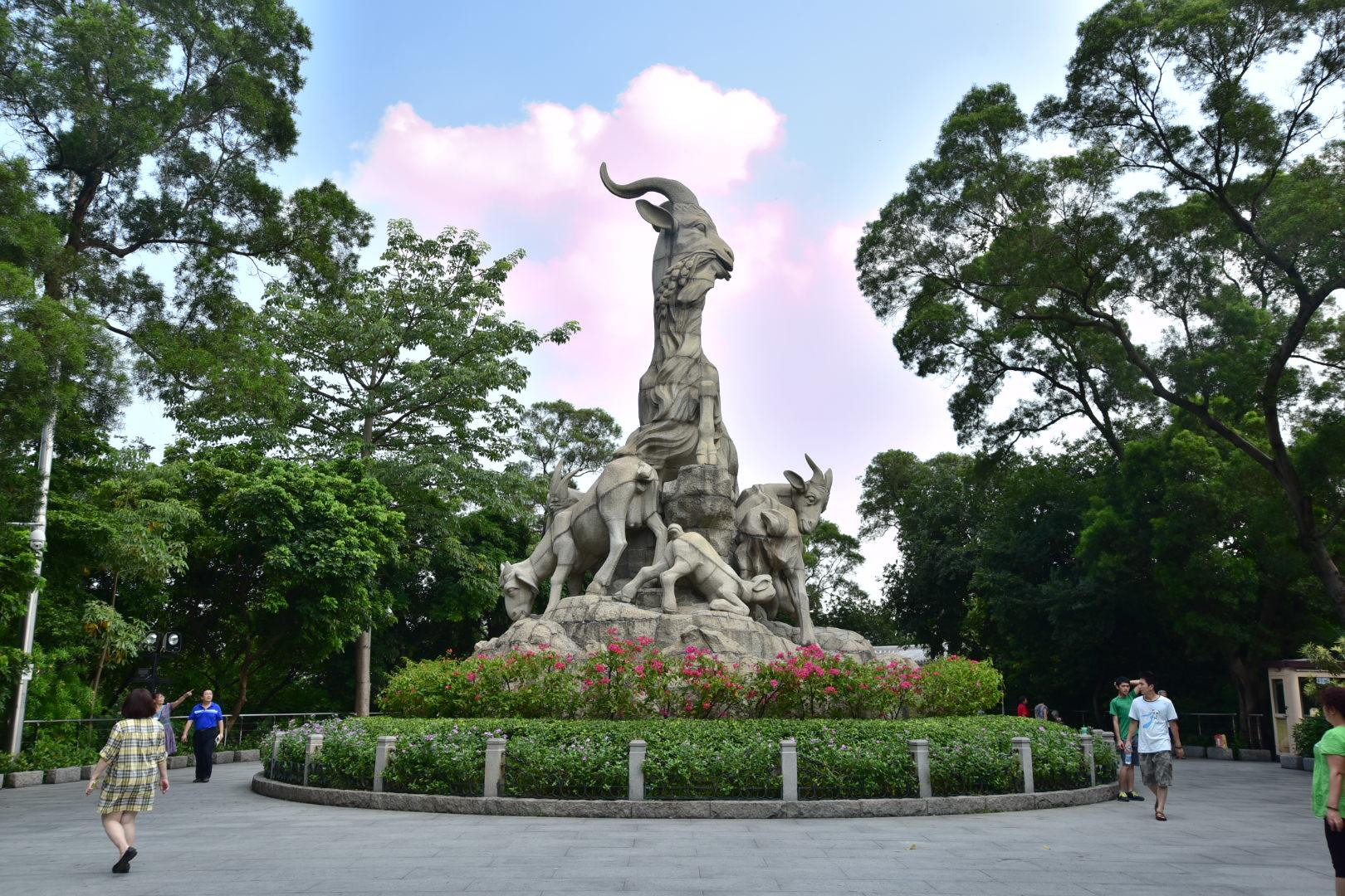 广州五羊雕像,求指导